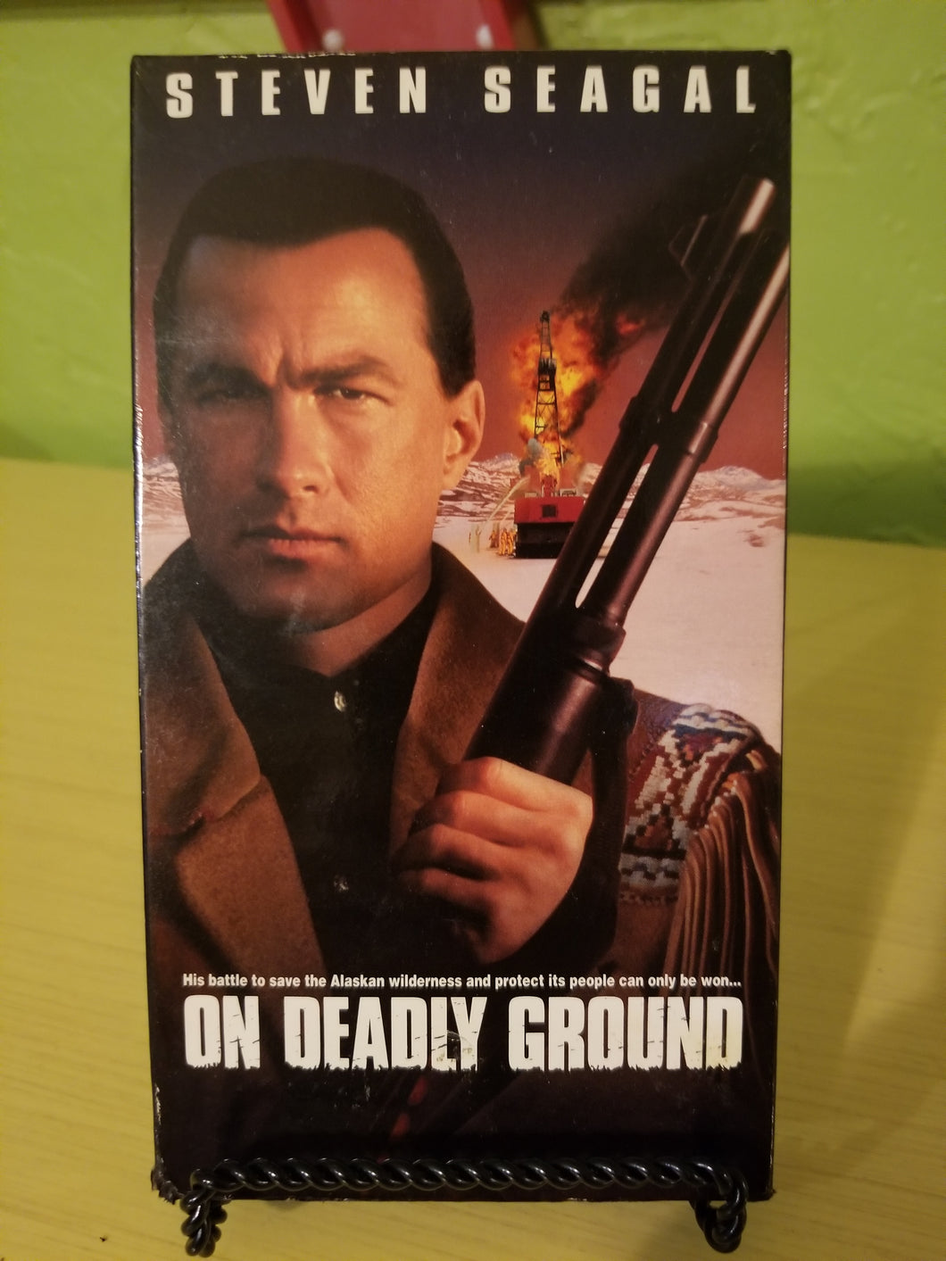 On Deadly Ground VHS