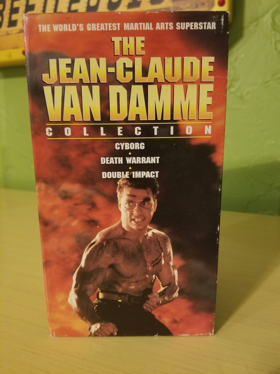 Jean-Claude Van Damme Collection  VHS