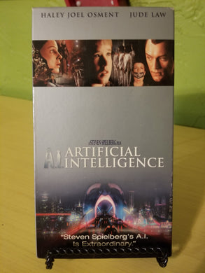A.I. Artificial Intelligence VHS