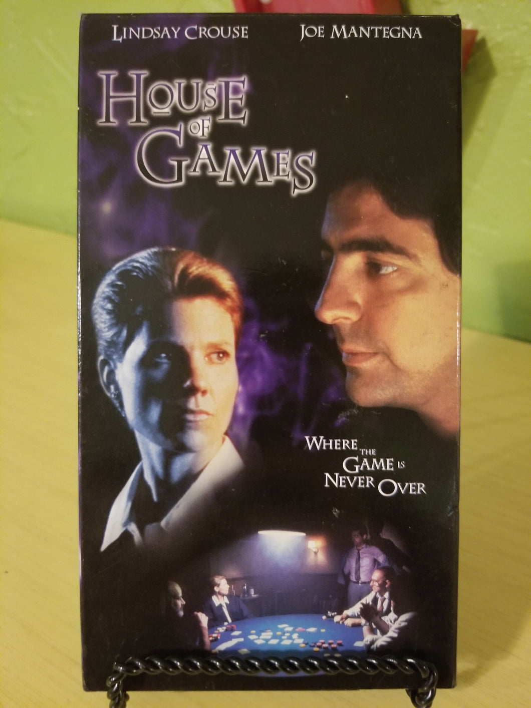 House of Games VHS
