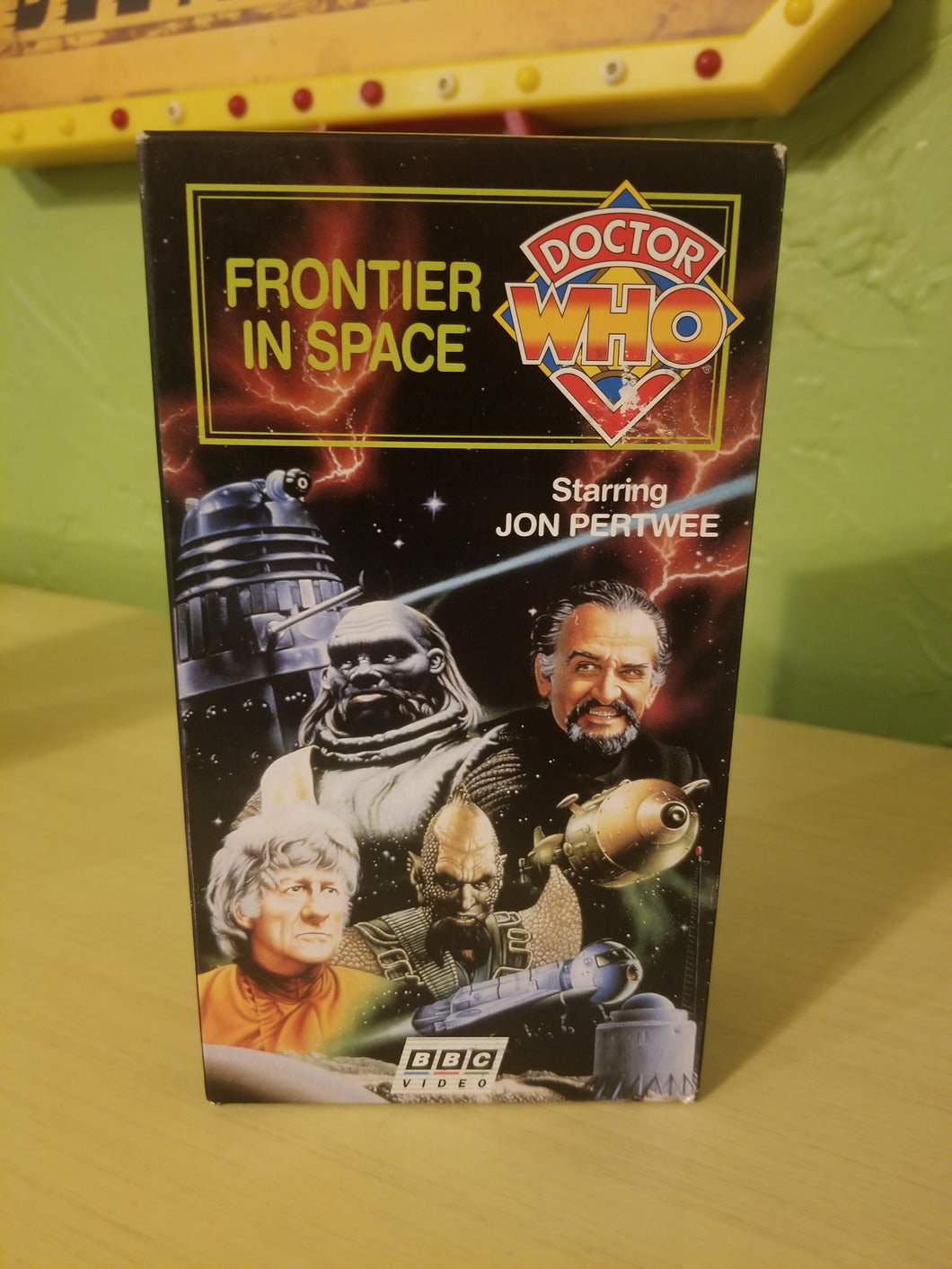 Dr Who: Frontier in Space VHS