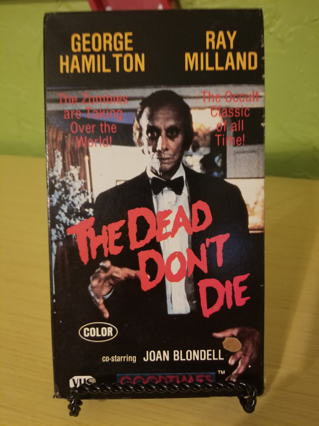 The Dead Don't Die VHS