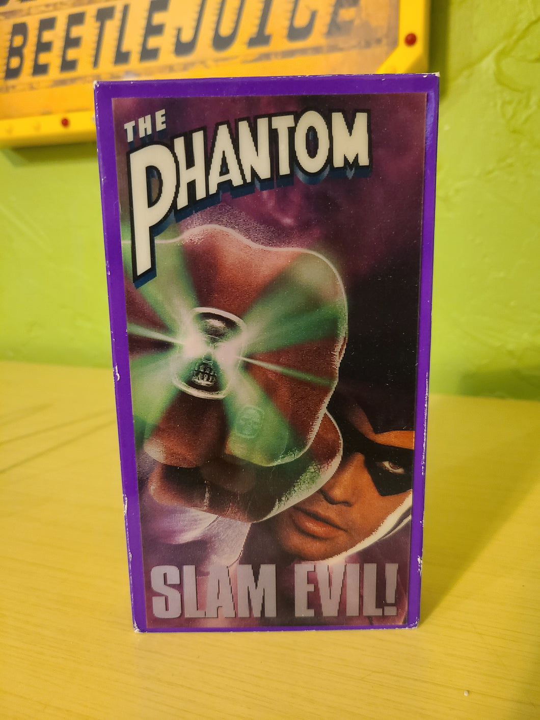 The Phantom VHS