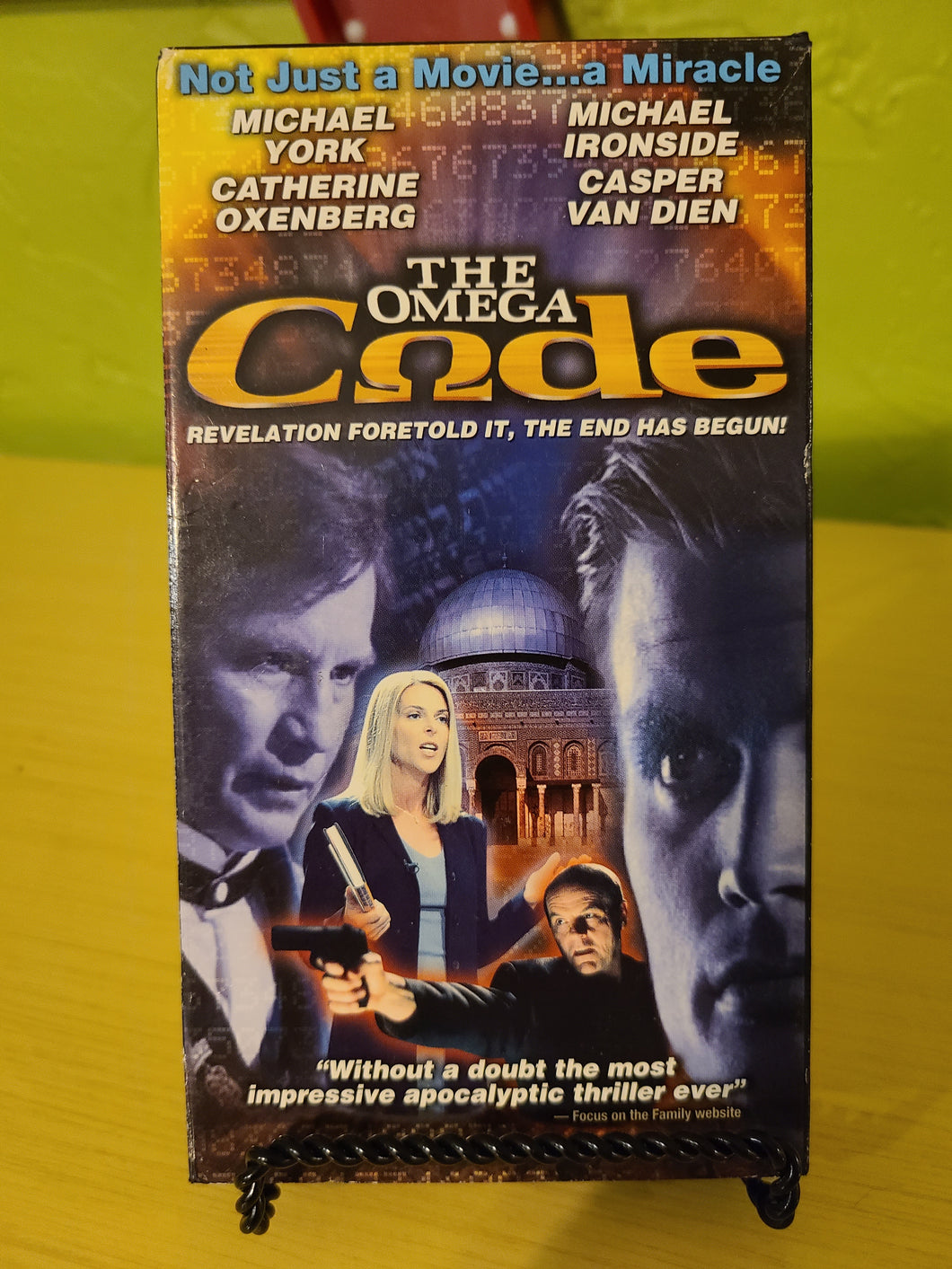 The Omega Code (Christian Rapture) VHS