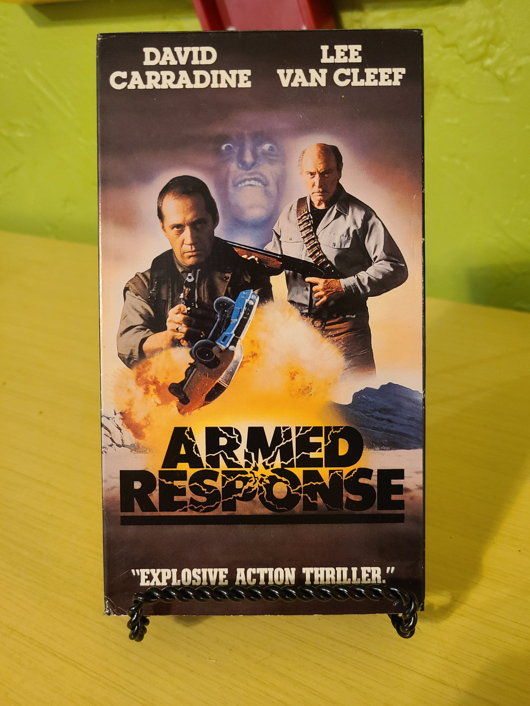 Armed Response VHS
