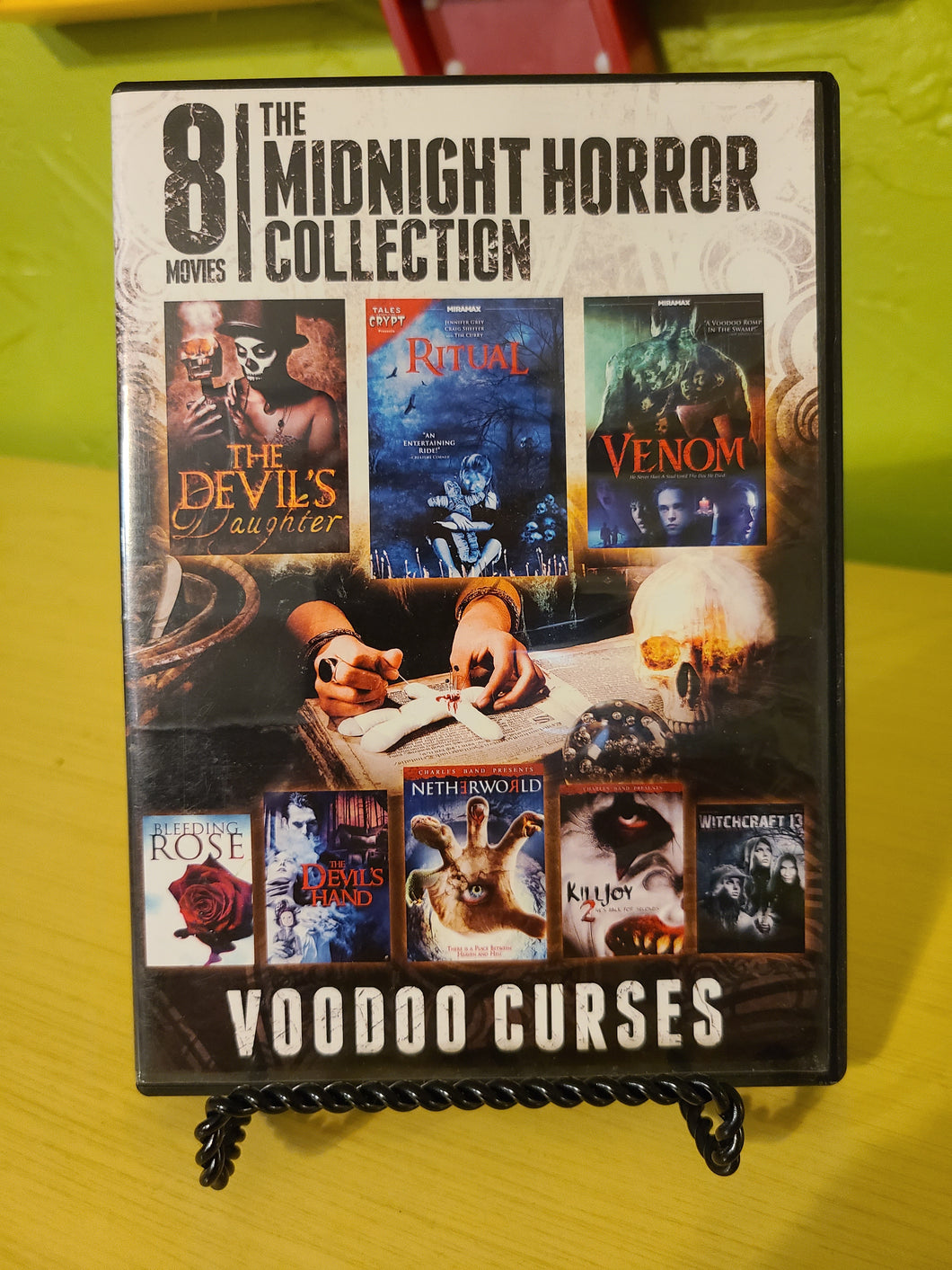 Midnight Horror Collection: Voodoo Curses DVD
