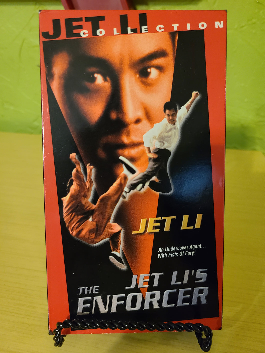 The Enforcer VHS