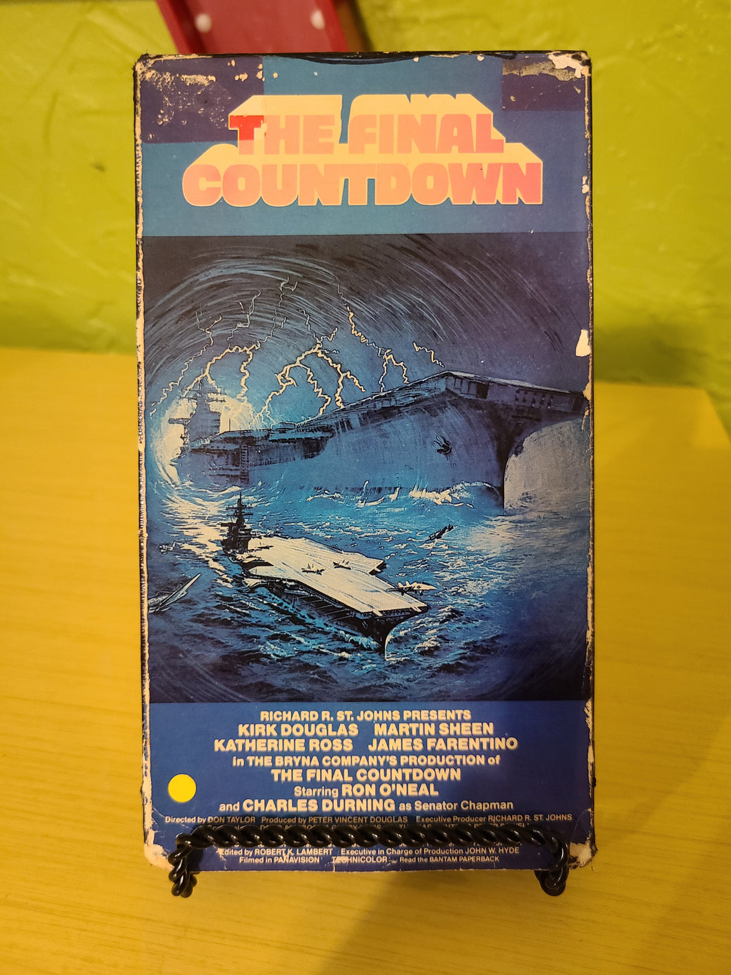 The Final Countdown VHS