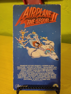 Airplane II VHS