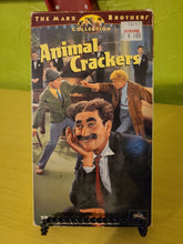 Animal Crackers VHS
