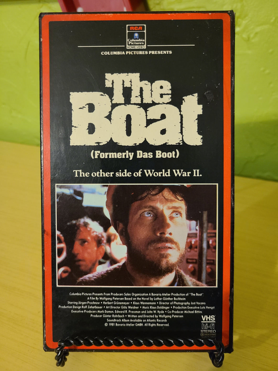 The Boat VHS