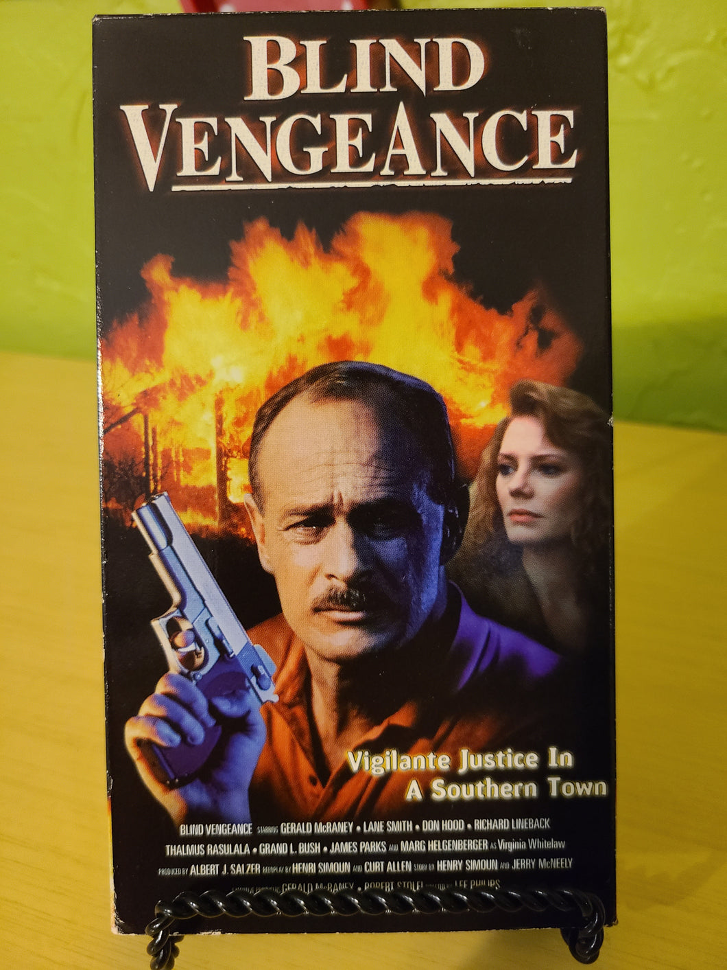 Blind Vengeance VHS