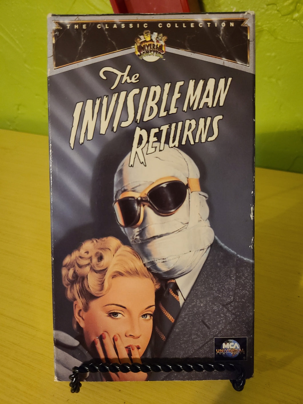 The Invisible Man Returns VHS