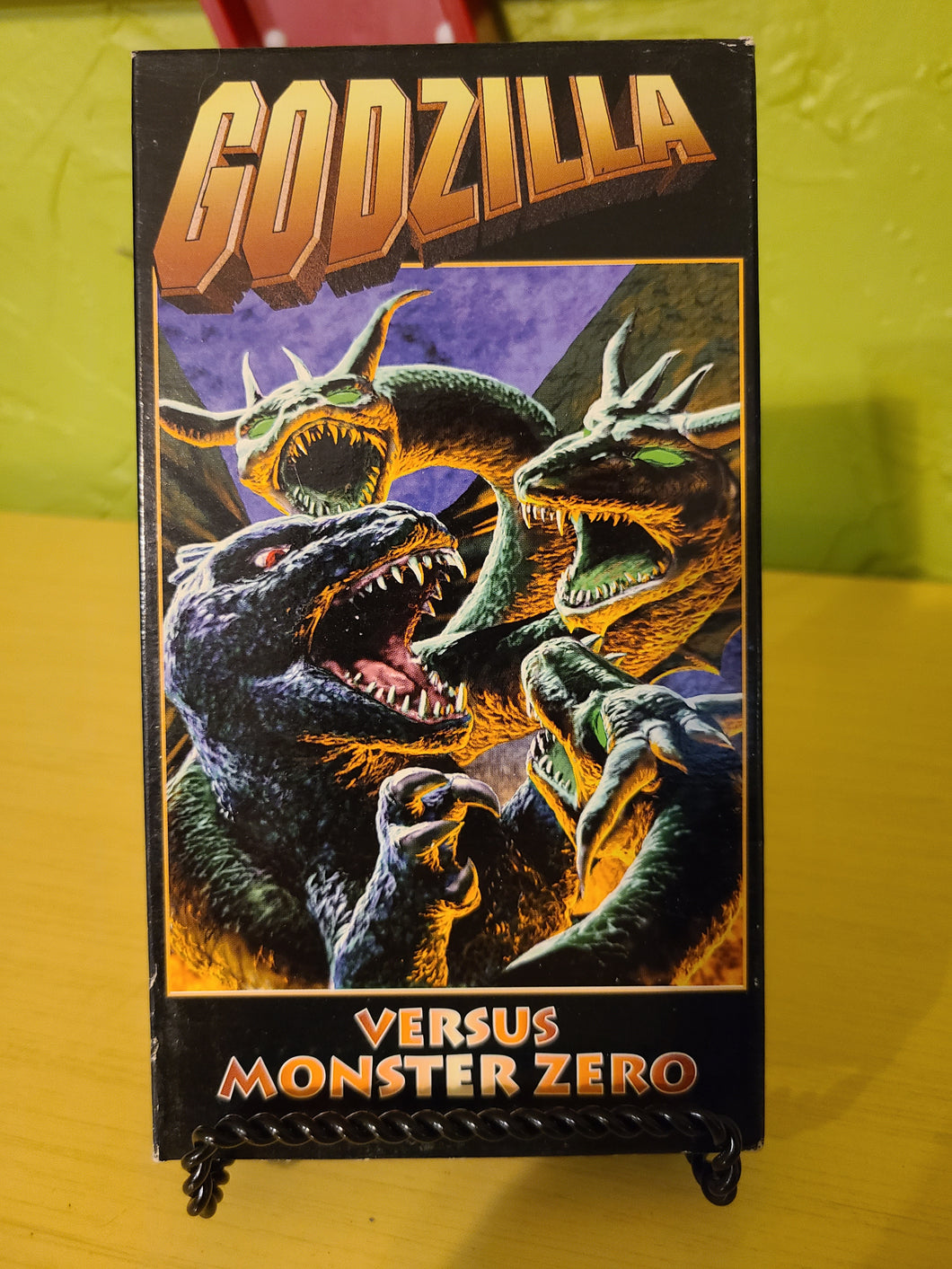 Godzilla vs Monster Zero VHS