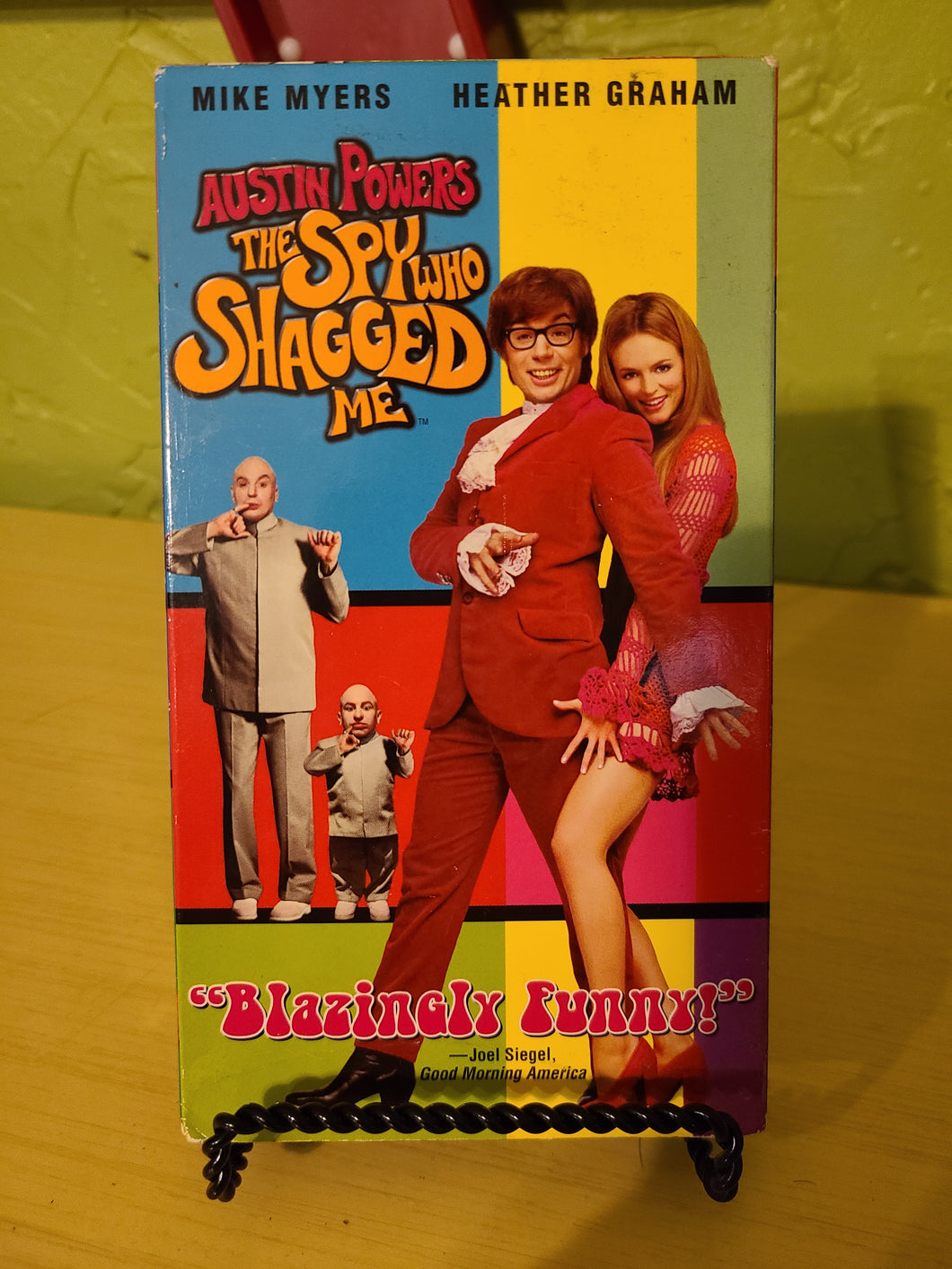 Austin Powers: The Spy Who Shagged Me VHS