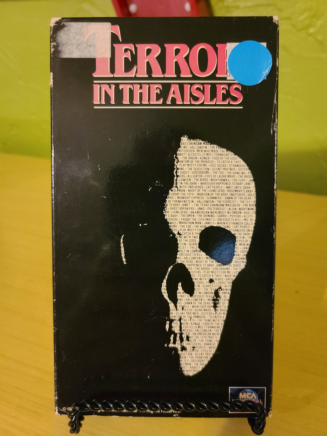 Terror in the Aisles VHS