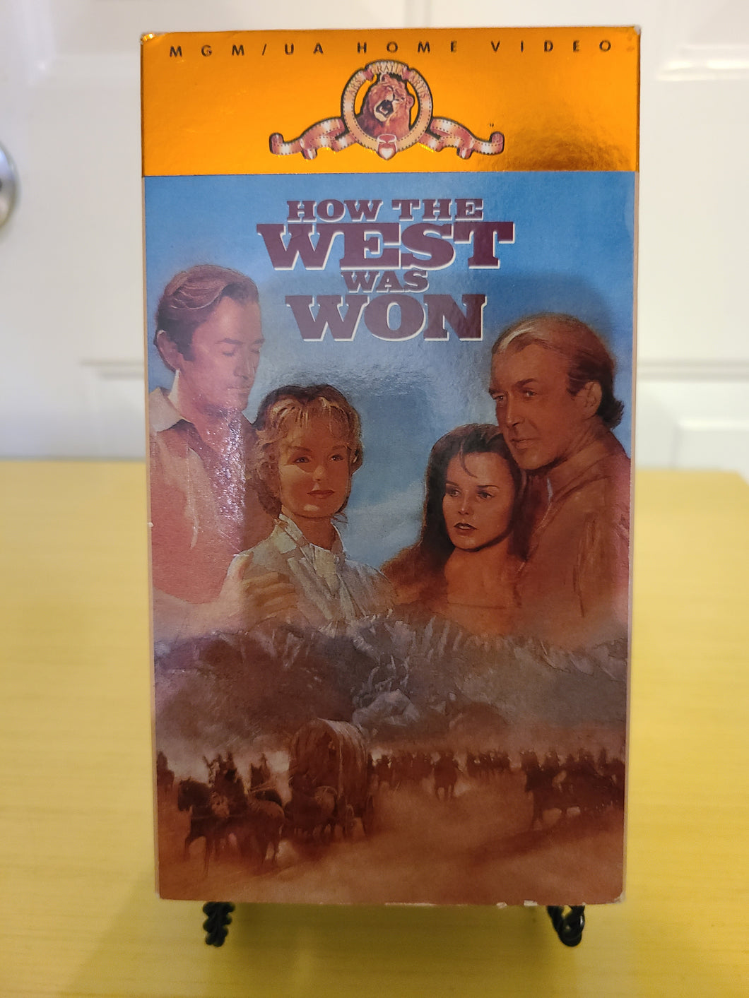 How the West Was Won VHS