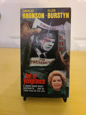 Act of Vengeance VHS