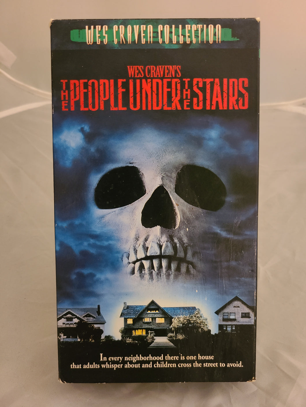 The People Under the Stairs VHS