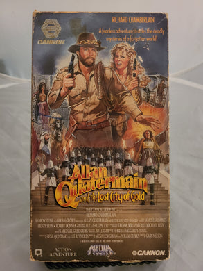 Allan Quartermain and the Lost City of Gold VHS