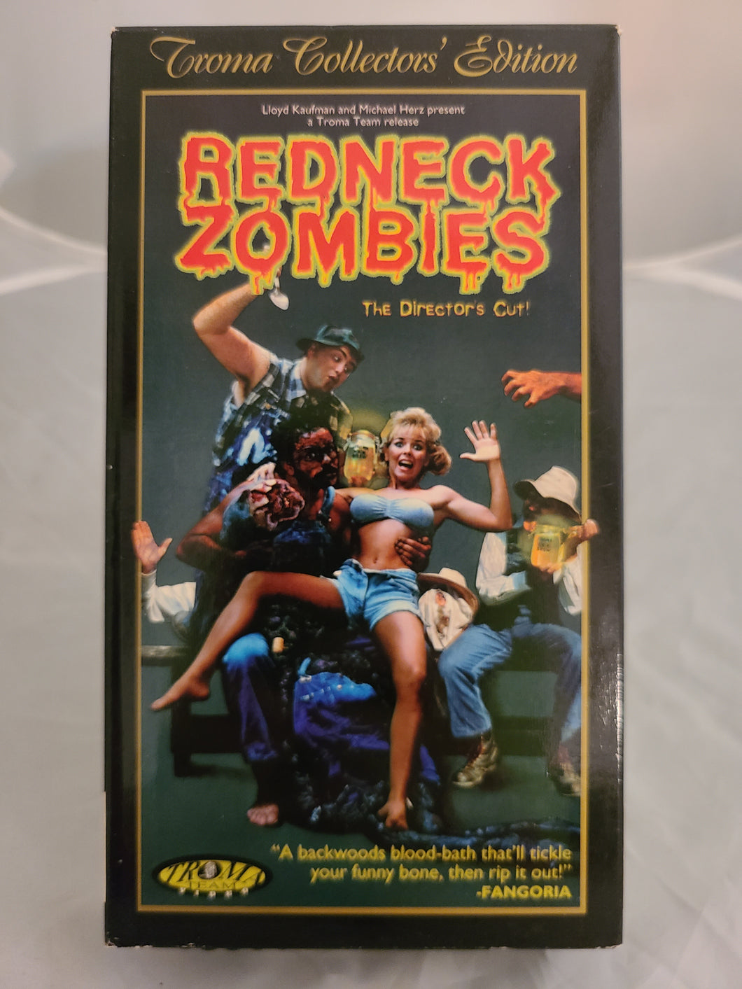 Redneck Zombies VHS