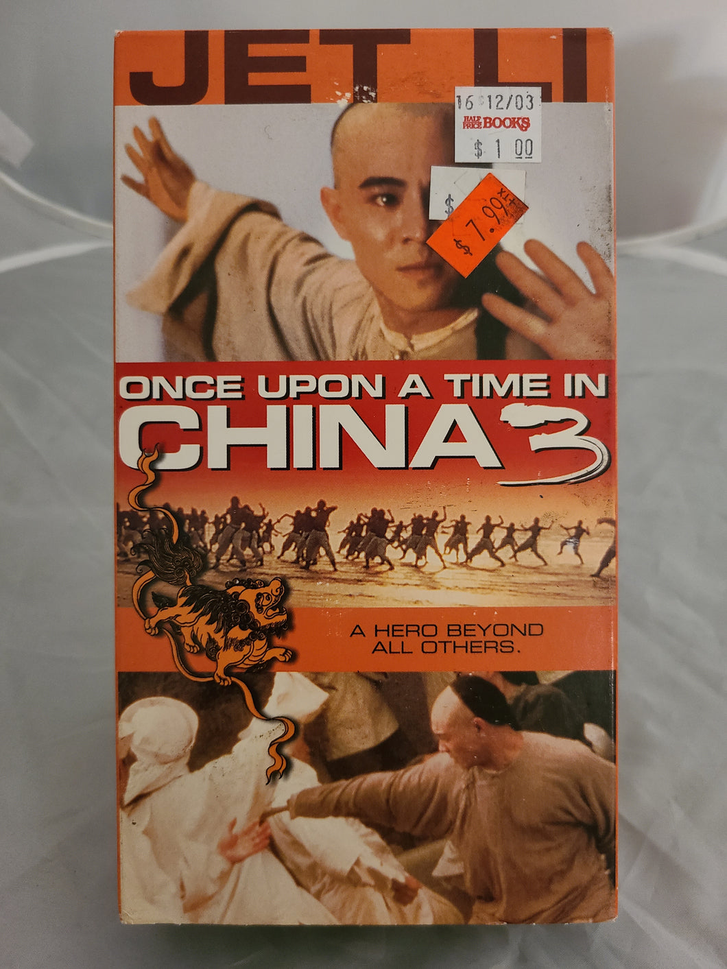 Once Upon a Time in China 3 VHS