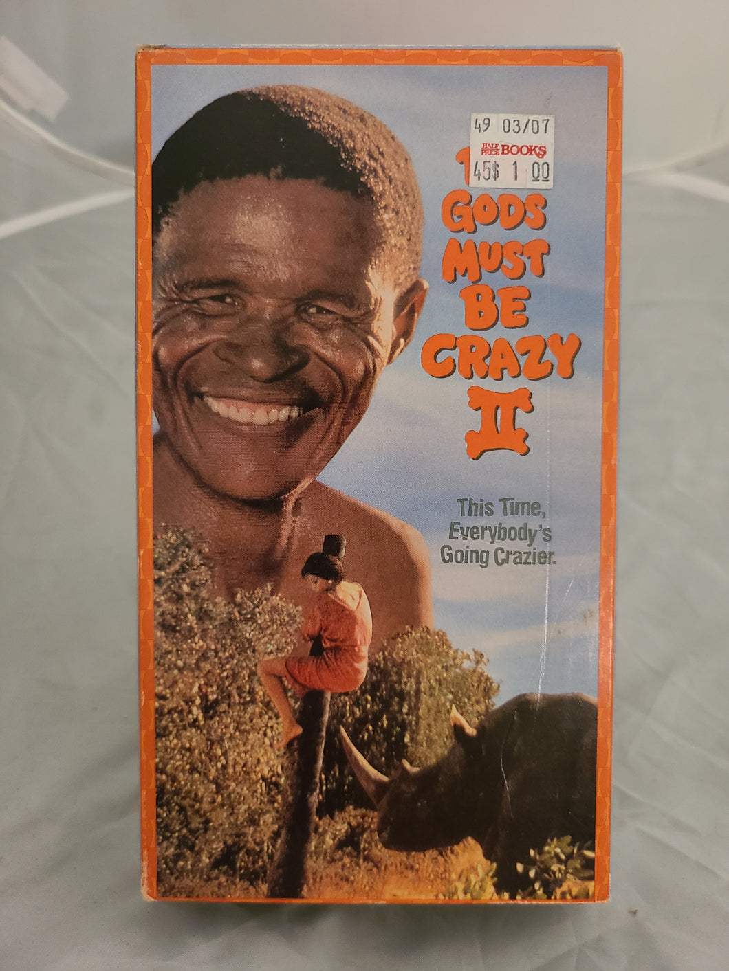 The Gods Must be Crazy II VHS