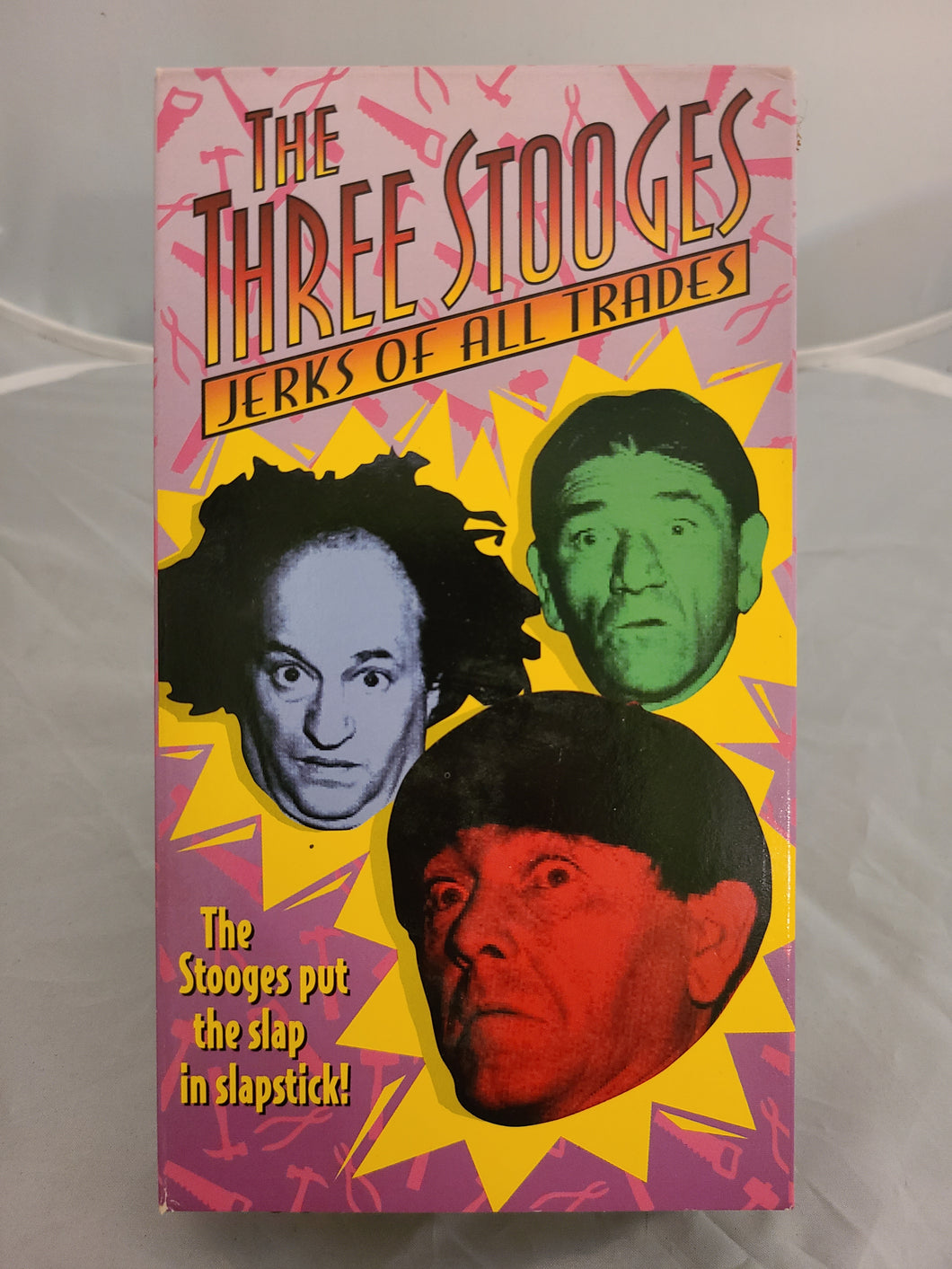 The Three Stooges: Jerks of all Trades VHS