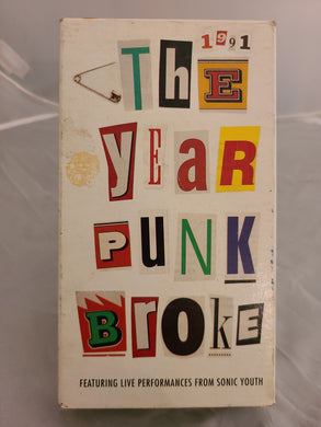 1991 The Year Punk Broke VHS
