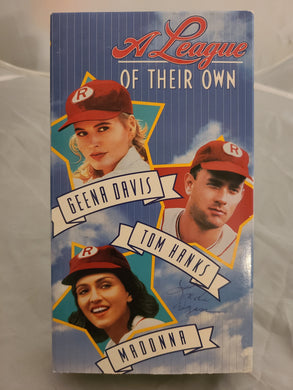 A League of Their Own VHS