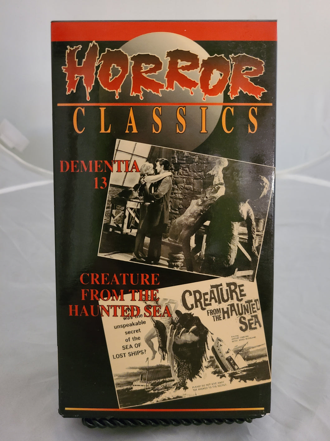 Dementia 13 / Creature from the Sea VHS