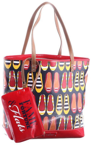 Nine West Can't Stop Shopper Multi Color Tote