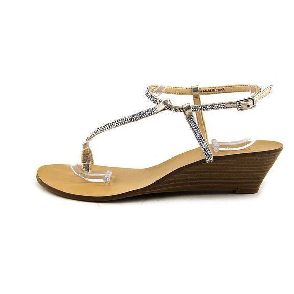 INC International Concepts Mystik Wedge Sandal Size 7M