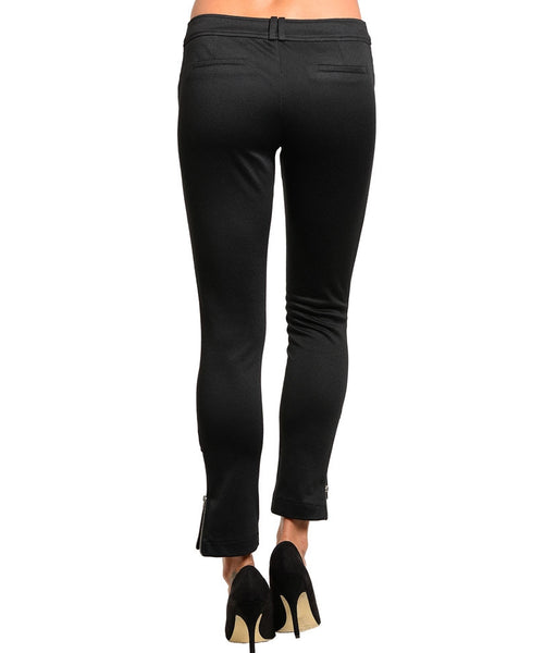 Have Womens Black Knit Pants