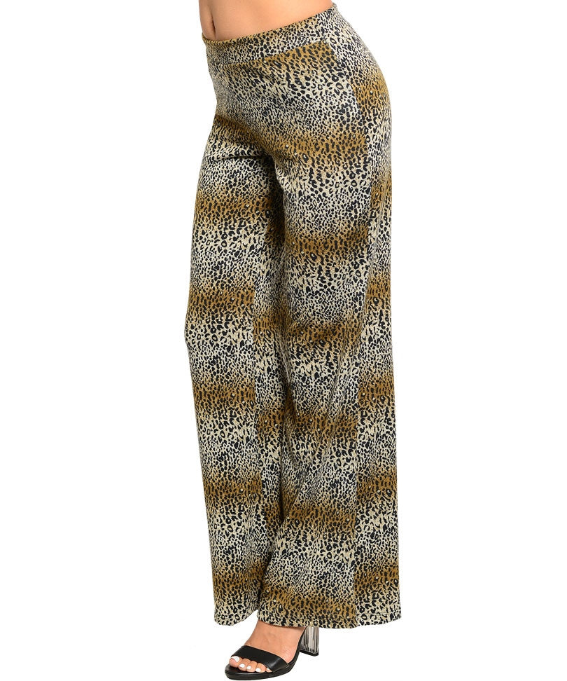 Must Have Womens Animal Print Pants