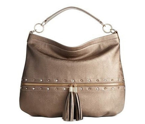 Inc International Concepts New Pewter Jackay Hobo Bag