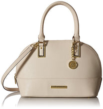 Anne Klein Shimmer Down Dome Satchel Sugar