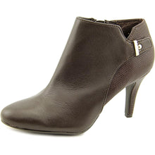 Alfani Gabry Leather Dress Booties TMoro Size 10M