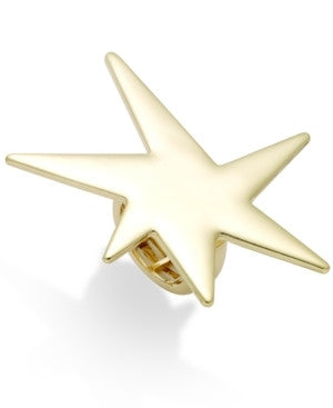 Bar III Gold-Tone Star Stretch Ring