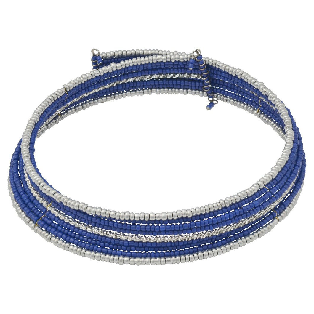 Collection XIIX Seed Bead Wrap Choker Necklace