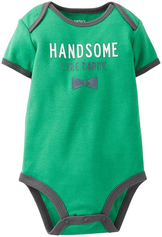 Carter's Baby Boys' Handsome Like Daddy Bodysuit 6 Months