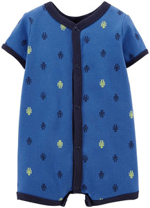 Carter's Baby Boys' Print Romper (Baby) - Robots - 24 Months