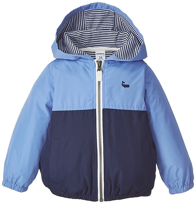 Carter's Two Tone Jacket (Baby) - Blue/Navy 6 months
