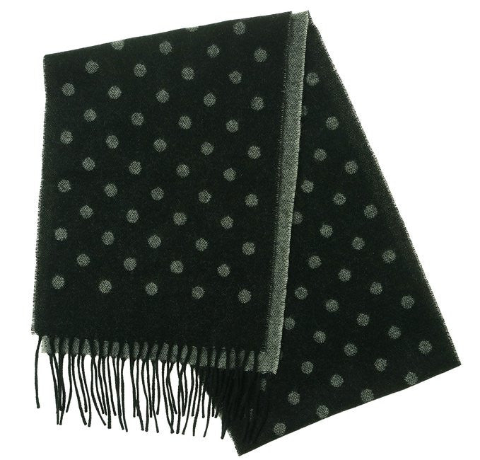 Charter Club Solid Cashmere Muffler Scarf Black