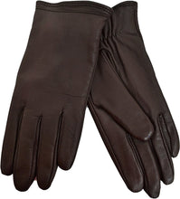 Charter Club Cashmere Lined Leather Tech Gloves Java XXL