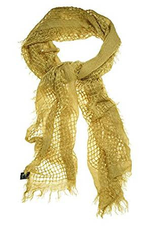 Cejon Women's Loosely Woven Fashion Scarf Camel