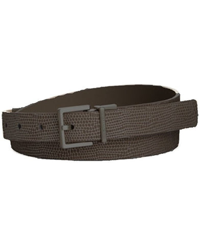 Calvin Klein Metallic Lizard Belt Black L