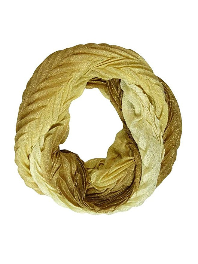 Collection XIIX Crinkle Ombre Loop Scarf Ancient Stone