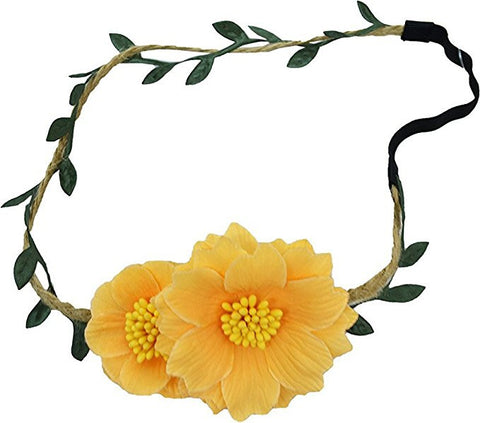 Collection Xiix Women's Ethereal Flower Vine Halo One Size