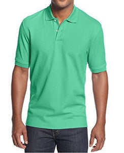 Club Room Short Sleeve Solid Estate Performance Polo Salamander